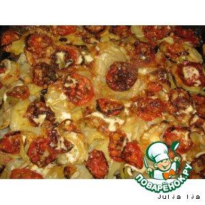 Рецепт Мясо под овощной шубкой