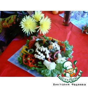 Курица (фаршированная или прочая) - оформление домашний рецепт с фото пошагово как готовить