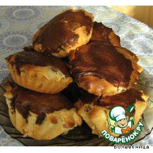 Готовим домашний рецепт приготовления с фотографиями Маффины абрикосово-шоколадные