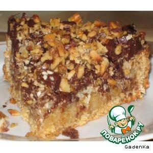 Рецепт Пряный пирог из овсянки со сгущенным молоком