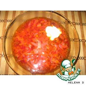 Рецепт Борщ  вегетарианский
