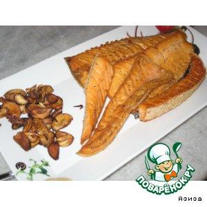 Рецепт Salmon - принц северных морей