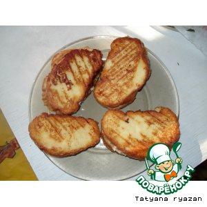 Рецепт Сандвичи из французских тостов
