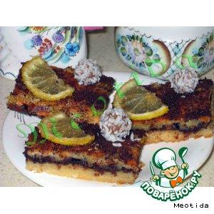 Рецепт Лимонно-шоколадные пирожные