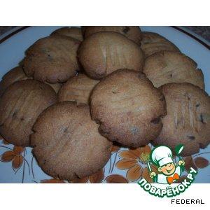 Рецепт Аннисовое печенье с шоколадом