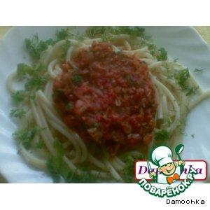 Рецепт Соус томатный для макарон
