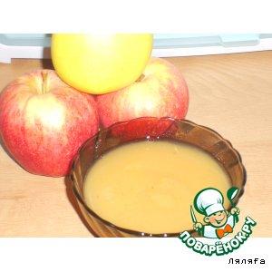 Рецепт Яблочный мусс. Яблочное повидло