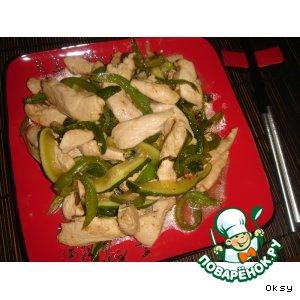 Рецепт Курица с овощами по-китайски