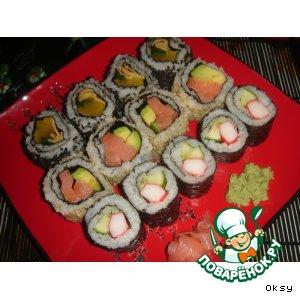 Изготовление роллов и суши в домашних условиях