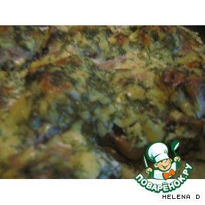 Рецепт Биточки с картофельным пюре под грибным соусом