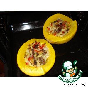 Как приготовить рецепт с фото Фаршированная тыква