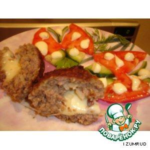 Бифбургеры с сюрпризом пошаговый рецепт приготовления с фото готовим