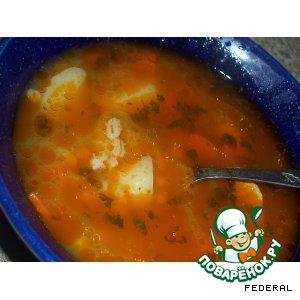 Рецепт Суп с перловкой по-шотландски