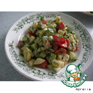 Рецепт Утренний салат