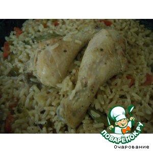 Рецепт Ножки куриные с овощами