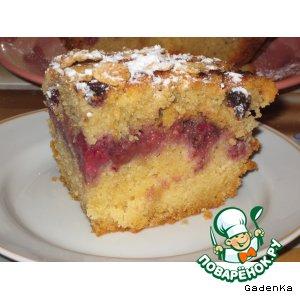 Рецепт «Хрустящий» ягодный кекс