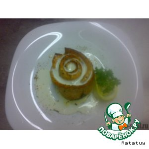 Рецепт Роза в сливочном соусе «Fish sauce»