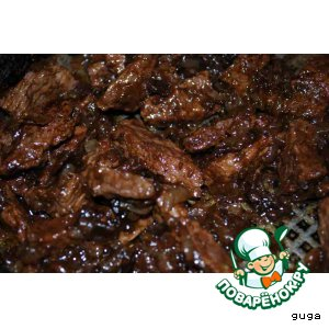 Рецепт Мясо по-гавайски