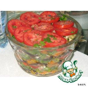 Рецепт Баклажаны по-дунгански
