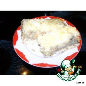Рецепт Рисовая запеканка с печенью
