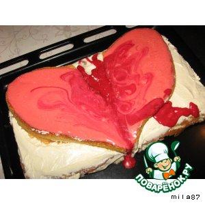 """Рецепт Торт """" Разбитое сердце"""""""