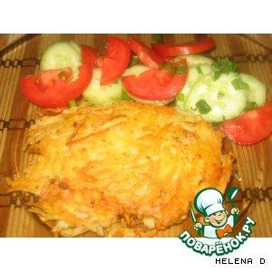 Рецепт Драники от snivli с добавлением фарша, моркови и зелени