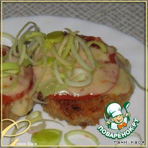 Рецепт Свиные котлетки в сырной панировке