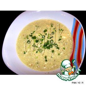 Рецепт Крем-суп из цуккини со сливочным сыром