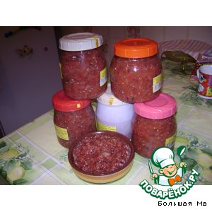 Рецепт Икра заморская (баклажанная)