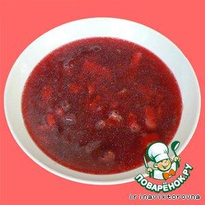 Борщ из куриных желудочков домашний пошаговый рецепт приготовления с фото как готовить