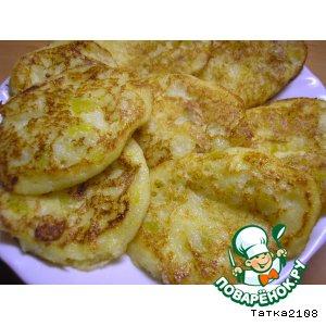 Рецепт Манно-тыквенные оладушки