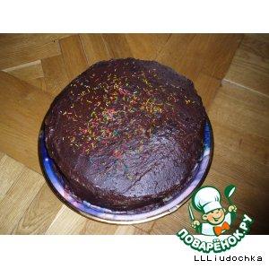 """Рецепт Торт """"Пражский"""""""