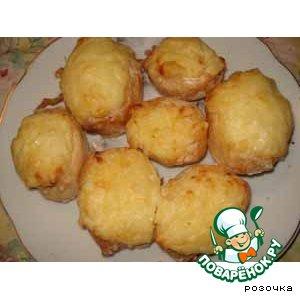 Рецепт Картофель печеный фаршированный