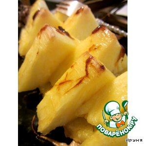 Рецепт Запеченный ананас