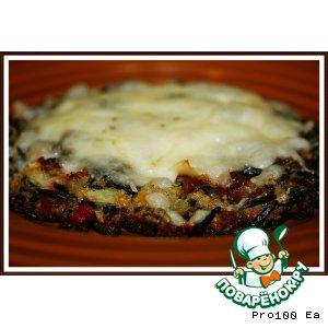 Рецепт Романтический ужин для ковбоя, часть первая: Пицца из Дикого Риса