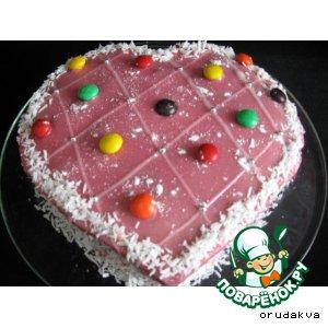 Рецепт Ароматный пирог «Вишнeвый соблазн»