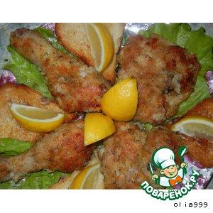 Рецепт Жареная курица по-американски