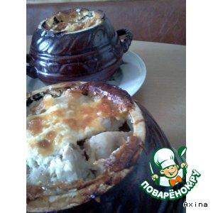 Рецепт Горшочек с картофелем и мясом