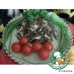 Рецепт Дикий рис с грибами