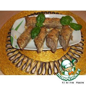 Рецепт Гречневые блины с мясом