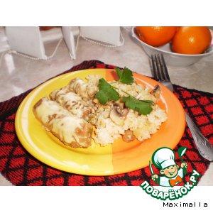 Рецепт Крученики мясные со стручковой фасолью