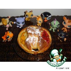 Рецепт Вкуснейшие булочки из творожного теста!