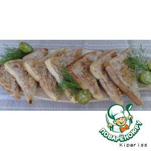 Рецепт Креветочные тосты