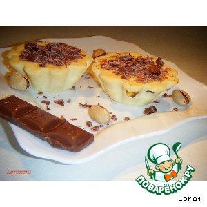 Рецепт Нежный десерт с белым шоколадом и ликeром Бейлиз