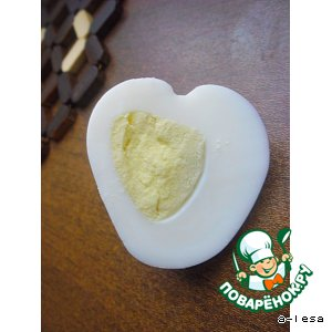 """Рецепт Варeное яйцо """"Сердце"""""""