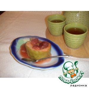 Рецепт Райские яблочки с клубникой