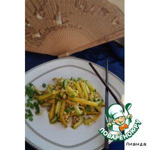 Салат с ростками маша