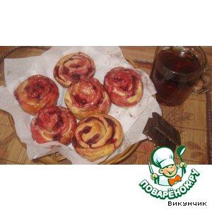 Как готовить Ягодные розочки домашний рецепт приготовления с фотографиями