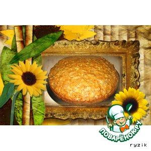 Рецепт Геркулесовая коврижка с бананами и медом