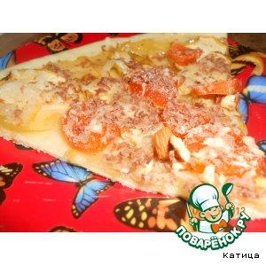 Как готовить Сладкая пицца рецепт с фото